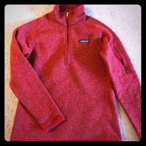 Wmns 1/4 zip Sweater Patagonia